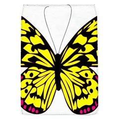 Yellow A Colorful Butterfly Image Flap Covers (l)
