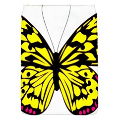 Yellow A Colorful Butterfly Image Flap Covers (S)