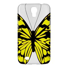Yellow A Colorful Butterfly Image Samsung Galaxy Mega 6 3  I9200 Hardshell Case