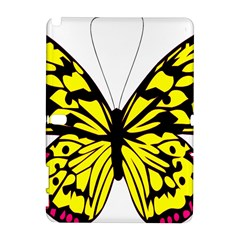 Yellow A Colorful Butterfly Image Galaxy Note 1