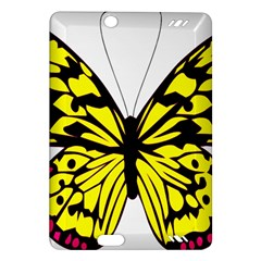 Yellow A Colorful Butterfly Image Amazon Kindle Fire HD (2013) Hardshell Case