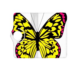 Yellow A Colorful Butterfly Image Kindle Fire HDX 8.9  Flip 360 Case