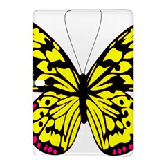 Yellow A Colorful Butterfly Image Samsung Galaxy Tab Pro 10.1 Hardshell Case