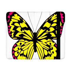 Yellow A Colorful Butterfly Image Samsung Galaxy Tab Pro 8.4  Flip Case