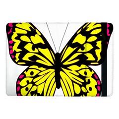 Yellow A Colorful Butterfly Image Samsung Galaxy Tab Pro 10.1  Flip Case