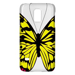 Yellow A Colorful Butterfly Image Galaxy S5 Mini