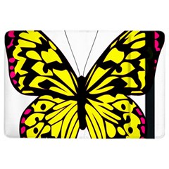 Yellow A Colorful Butterfly Image iPad Air 2 Flip