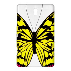 Yellow A Colorful Butterfly Image Samsung Galaxy Tab S (8.4 ) Hardshell Case