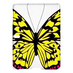 Yellow A Colorful Butterfly Image Samsung Galaxy Tab S (10 5 ) Hardshell Case