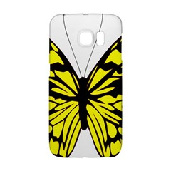 Yellow A Colorful Butterfly Image Galaxy S6 Edge