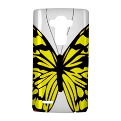 Yellow A Colorful Butterfly Image Lg G4 Hardshell Case