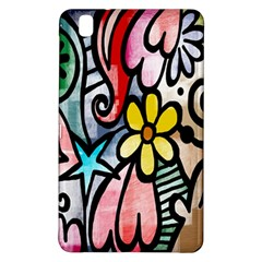 Digitally Painted Abstract Doodle Texture Samsung Galaxy Tab Pro 8.4 Hardshell Case