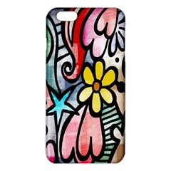 Digitally Painted Abstract Doodle Texture iPhone 6 Plus/6S Plus TPU Case