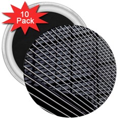 Abstract Architecture Pattern 3  Magnets (10 Pack)