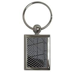 Abstract Architecture Pattern Key Chains (rectangle)