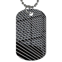 Abstract Architecture Pattern Dog Tag (one Side)