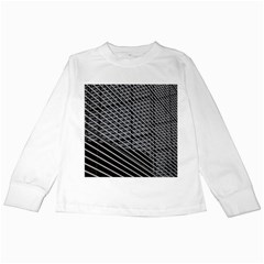Abstract Architecture Pattern Kids Long Sleeve T Shirts