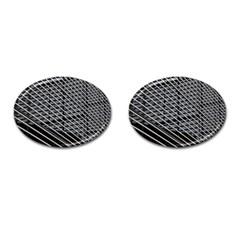 Abstract Architecture Pattern Cufflinks (Oval)