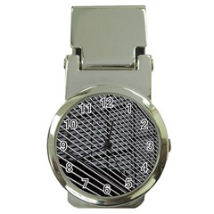 Abstract Architecture Pattern Money Clip Watches