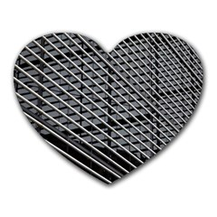 Abstract Architecture Pattern Heart Mousepads