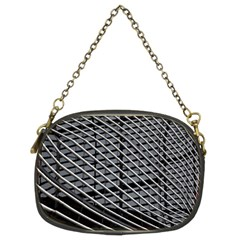 Abstract Architecture Pattern Chain Purses (two Sides)