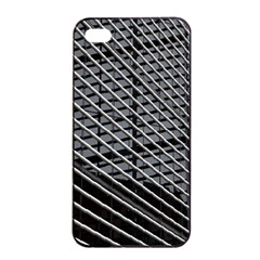 Abstract Architecture Pattern Apple iPhone 4/4s Seamless Case (Black)
