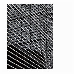 Abstract Architecture Pattern Large Garden Flag (two Sides)