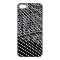 Abstract Architecture Pattern Apple iPhone 5 Case (Silver)