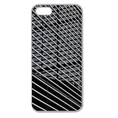 Abstract Architecture Pattern Apple Seamless iPhone 5 Case (Clear)