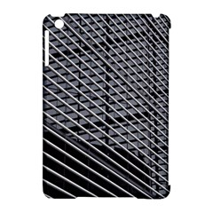 Abstract Architecture Pattern Apple iPad Mini Hardshell Case (Compatible with Smart Cover)