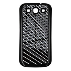 Abstract Architecture Pattern Samsung Galaxy S3 Back Case (Black)