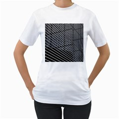 Abstract Architecture Pattern Women s T Shirt (white)