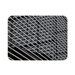 Abstract Architecture Pattern Double Sided Flano Blanket (Mini)