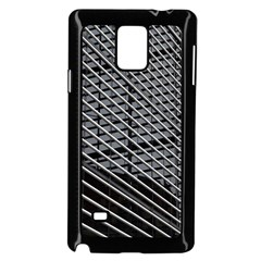 Abstract Architecture Pattern Samsung Galaxy Note 4 Case (black)