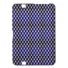 Squares Blue Background Kindle Fire Hd 8 9