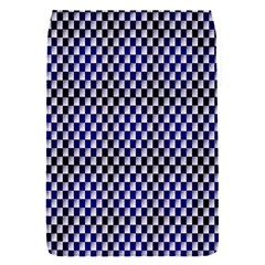 Squares Blue Background Flap Covers (S)