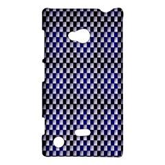 Squares Blue Background Nokia Lumia 720