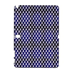 Squares Blue Background Galaxy Note 1