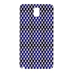 Squares Blue Background Samsung Galaxy Note 3 N9005 Hardshell Back Case