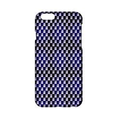 Squares Blue Background Apple iPhone 6/6S Hardshell Case