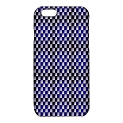 Squares Blue Background iPhone 6/6S TPU Case
