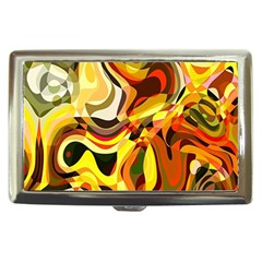Colourful Abstract Background Design Cigarette Money Cases