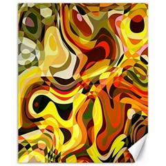 Colourful Abstract Background Design Canvas 11  X 14