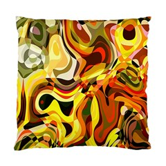 Colourful Abstract Background Design Standard Cushion Case (two Sides)