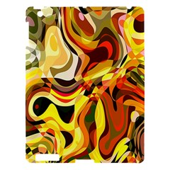 Colourful Abstract Background Design Apple iPad 3/4 Hardshell Case