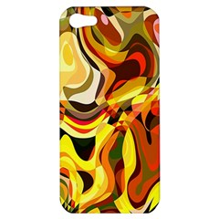 Colourful Abstract Background Design Apple Iphone 5 Hardshell Case