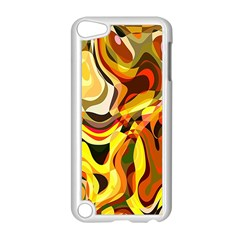 Colourful Abstract Background Design Apple Ipod Touch 5 Case (white)