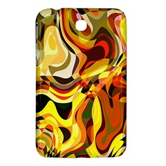 Colourful Abstract Background Design Samsung Galaxy Tab 3 (7 ) P3200 Hardshell Case