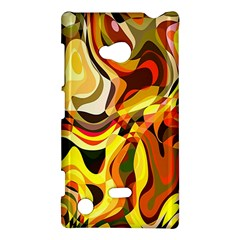Colourful Abstract Background Design Nokia Lumia 720
