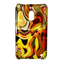 Colourful Abstract Background Design Nokia Lumia 620